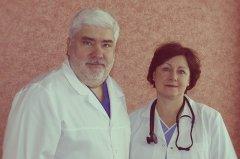 Gydytojai Evaldas ir Vaida Butkai